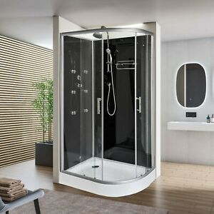1200x800mm Modern Quadrant Shower Room Cubicle Enclosure Cabin LEFT CORNER