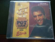 RARE ELVIS PRESLEY CD - SOMETHING FOR EVERYBODY & POT LUCK - MEMORY RECORDS