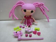 LALALOOPSY JEWEL SPARKLES PINK SILLY HAIR W/ACCESSORIES & PET CAT