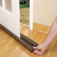 Twin Door Draft Dodger Guard Stopper Energy Saving Protector Doorstop Useful New