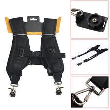 2 Digital DSLR SLR Quick Rapid Digital Cameras Shoulder Double Strap Belt Sling