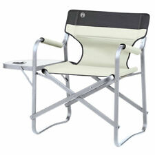 Coleman Folding Deck Chair with Table in Khaki**FAST & FREE DELIVERY**