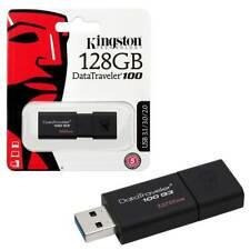 128GB Kingston Data Traveler 100 G3 USB 3.1 Flash Drive USB 3.0 Memory Stick