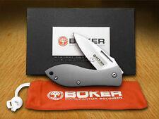 BOKER JIM BURKE 1132011 TITANIUM 2011 FOLDING KNIFE, NEW FACTORY BOXED / Offer?