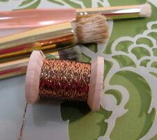 Vintage Copper w/ black Metallic Tinsel  Fly Tying  Weave Knit