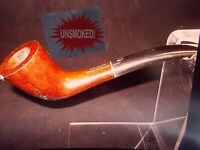 VINTAGE MEDICO NOS UNSMOKED NEW VINTAGE IMPORTED BRIAR PIPE WITH 21 FILTERS -1