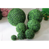 Hemispherical Grass Ball Artificial Fake Plant Plastic Floral Home Table Decor