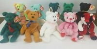 Lot of 10 Ty Beanie Babies Bears