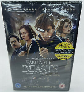 Fantastic Beasts and Where to Find Them - New & Sealed DVD