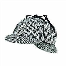 Sherlock Holmes Detective Style Hat Fancy Dress Costume Accessory P8216