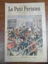 LE PETIT PARISIEN 1901 EMEUTES MOSCOU Riot Moscow DJEMAA CHARROUIN  (634)