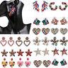 Fashion Geometric Crystal Zircon Women Stud Earrings Dangle Drop Wedding Jewelry