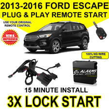 2013-16 Ford Escape Easy Install Remote Start Plug and Play Original Fob FO1C