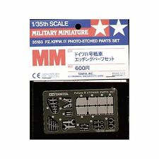 Tamiya 1/35th Scale Pz Kpfw IV Photo Etch Parts Set No. 35183