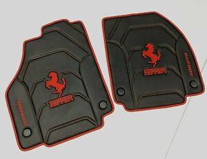 Ferrari 488 GTB, 812 Superfast, 458, F12 Berlinetta Eco Leather Floor Mats