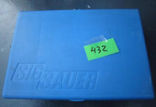 Sig Sauer p6 p225 early blue plastic box/case, Factory Made in Germany