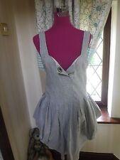 Beautiful All Saints Gingham Beaujolais  Dress Size10 Excellent Condition