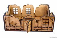 Modular ruins CORNERS #1 Warhammer, FB, Frostgrave, Mordheim, laser-cut, scenery