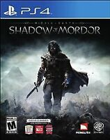Middle-earth: Shadow of Mordor - Sony Playstation 4 Game - Complete