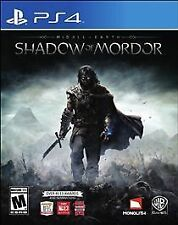 Middle-earth Shadow of Mordor RE-SEALED Sony PlayStation 4 PS PS4 GAME