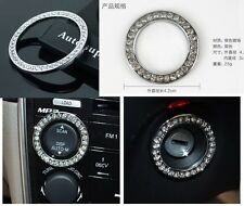 AUTO ACCESSORIES Car BUTTON START Switch Button Interior Decoration Crystal Ring