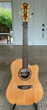Maton WA May Custom Shop Cutaway Acoustic Electric Guitar In Case--New Condition