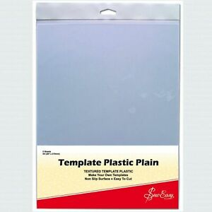Sew Easy Template Plastic Sheets A4 x 2 pieces