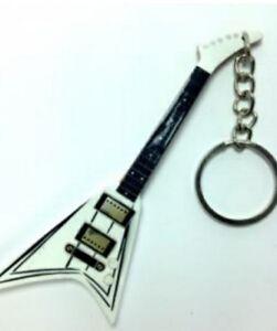 Randy Rhoads 10cm Wooden Tribute Guitar Key Chain
