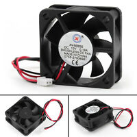1× DC Brushless Cooling PC Computer Fan 12V 0.18A 5020s 50x50x20mm 2 Pin Fan BS2