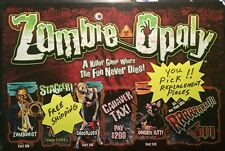 Zombie Monopoly Game Replacement Pieces You Pick ALWAYS FREE SHIPPING