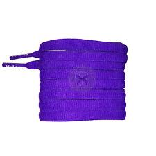 Mr Lacy Slimmies - Violet Oval Shoelaces - 130cm Length 8mm Width