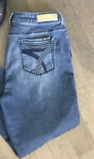 Seven7 Jeans - SZ 14 High Rise Skinny Ankle Soft Blue Denim Women's