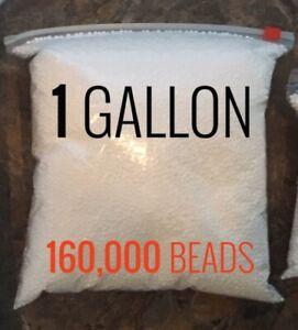Slime kit Styrofoam balls for slime 1 gallon new