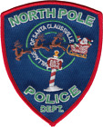 NORTH POLE POLICE DEPARTMENT SHOULDER PATCH