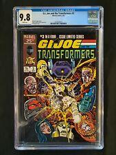 G.I. Joe and the Transformers #3 CGC 9.8 (1987)