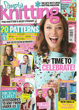 SIMPLY KNITTING, ISSUE, 2016  ISSUE 154  THE UK'S  BEST LOVED KNITTING MAGAZINE