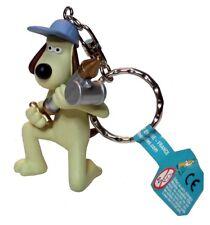 Wallace & Gromit - GROMIT WITH ANTI PESTO GUN KEYRING - Were Rabbit Keychain