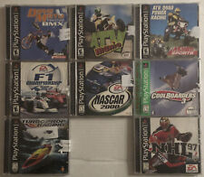 8 Playstation Game Lot PS1 One Misc Racing Other Sports Tested Working Preowned