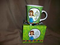 NICOLE BRAYDEN GIFTS BIRTHDAY COFFEE MUG GO GREEN RECYCLE SO YOU'RE 29 AGAIN