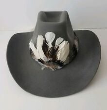Vintage 100% Imported Beaver Fur Co. Western Hat. Ten X Quality