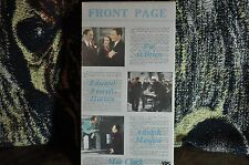 Front Page  -  Howard Hughes Black & White, Comedy, Crime/Investigation, NTSC