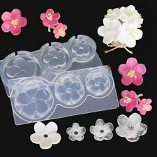 Flower Mold For Epoxy Resin Jewelry Making New Clear Silicone Diy Craft Tool 1pc