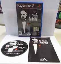 Console Game Gioco SONY Playstation 2 PS2 Play PAL ITALIANO IL PADRINO EA Ita