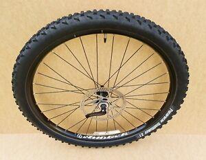 """Bontrager Ranger Front 26"""" Wheel Mountain Bike - Deore M535 Disc Brake QR MTB XC"""