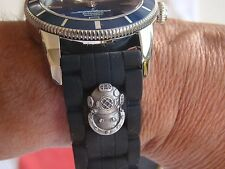 24MM DIVER SWIMMER SWIMMER'S DEEP SEA DIVER'S WATCHBAND WATCH BAND FIT ALL SIZES