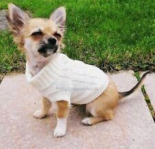 XXS Size Chihuahua Clothes Chihuahua Coat Warm Jumper Knit Puppy Dog Coat