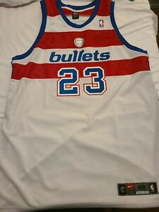 Nike authentic Michael Jordan Washington wizards bullets jersey vintage 52 2xl