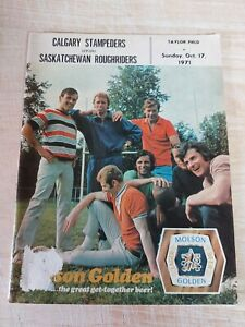 Vintage CFL Illustrated Football Magazine Vol 2 #9 Sask Roughriders Used