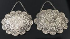 Sterling Silver 925 Vanity or Wall Mirrors Set of (2) Beautiful