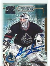 Garth Snow Signed 1998/99 Pacific Revolution Card #145